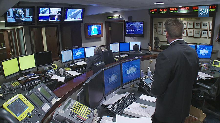 Watching Live Kill From The Situation Room