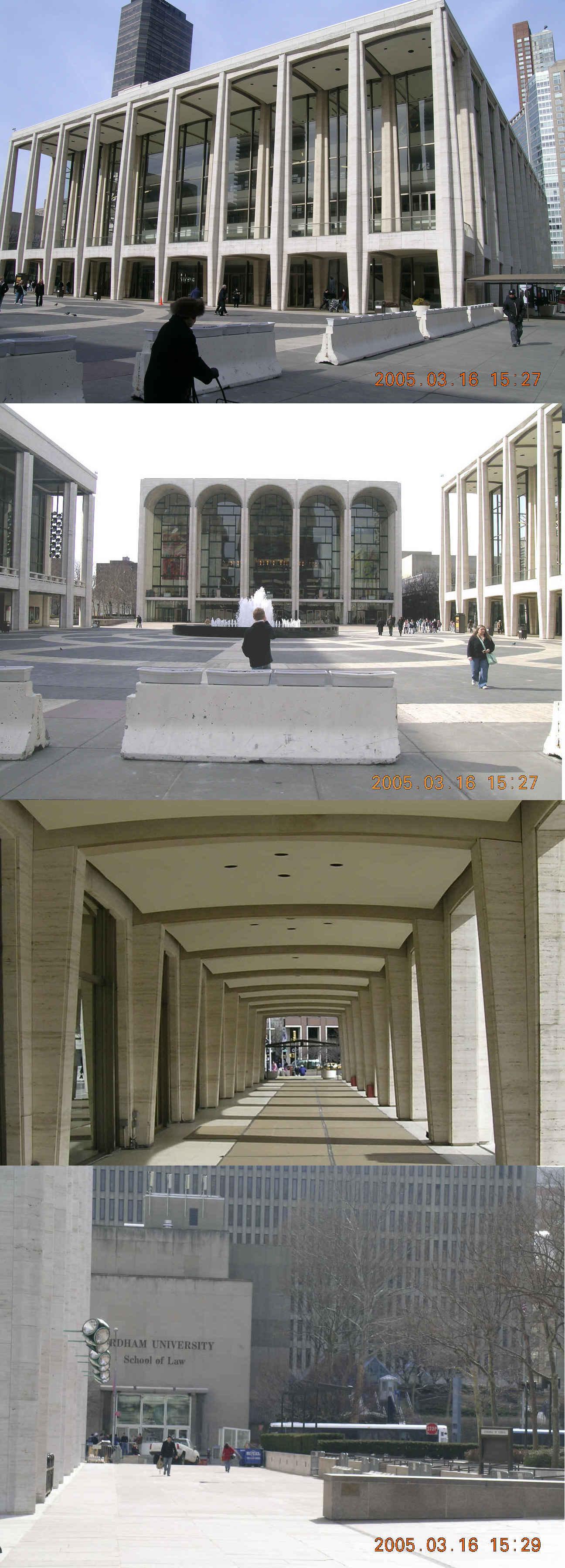 parking full map lot st lincoln center york parkme open garage w in new