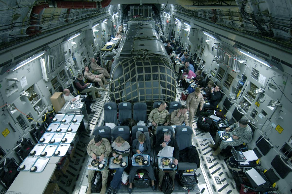 DoD C-17 Swank Flying Residence Eyeball