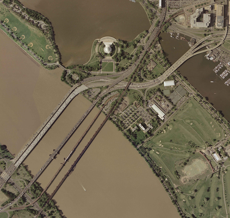 Eyeballing The Washington DC Bridges And Tunnels - Washington dc bridges map