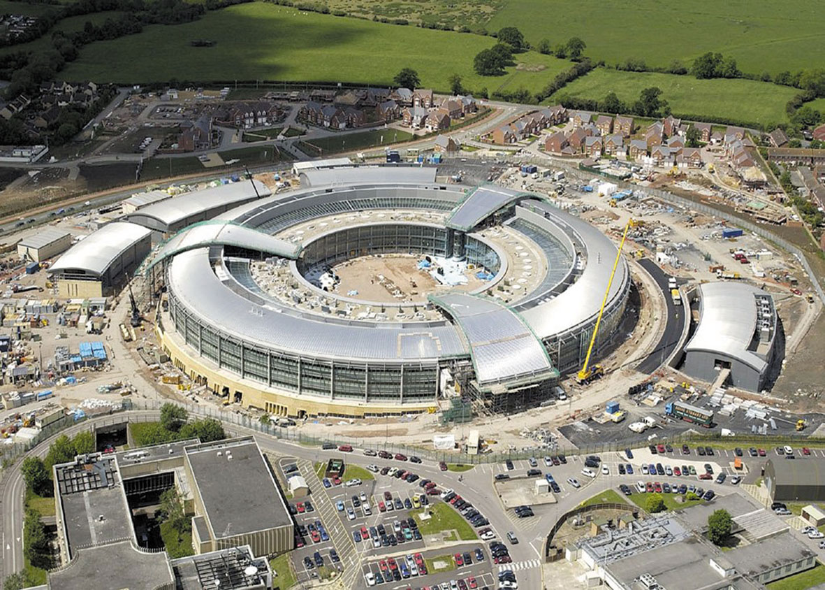 Eyeballing the Government Communications Headquarters - GCHQ 8203caafea