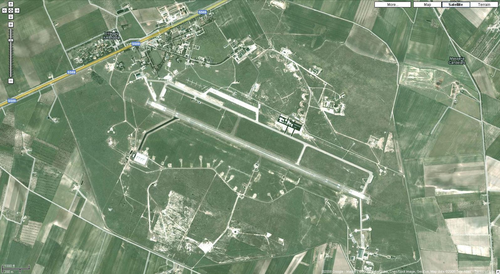 Amendola Italy Map.Vanished 16 Italy Air Bases Eyeball