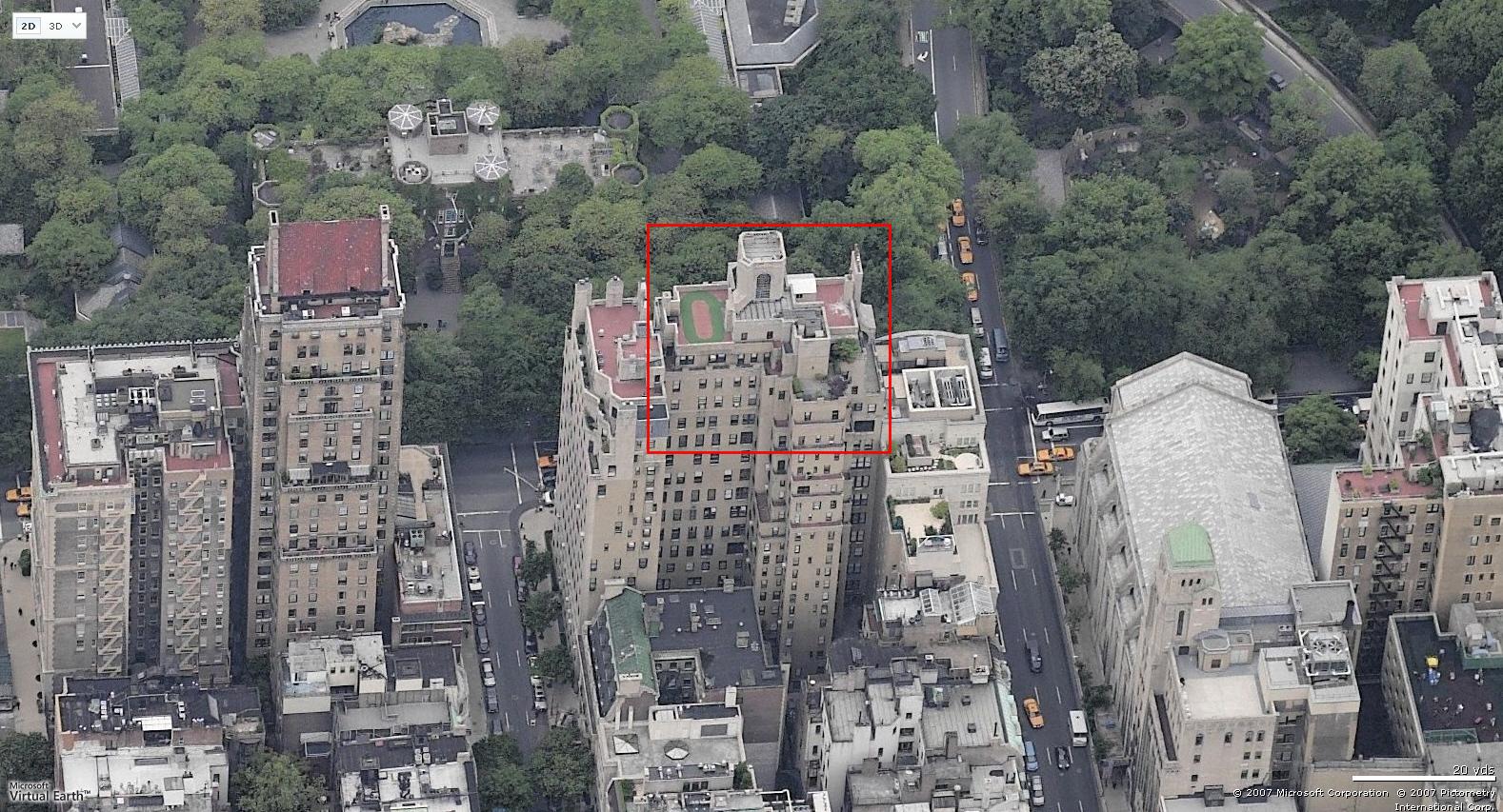 Rupert Murdoch New York Penthouse Eyeball