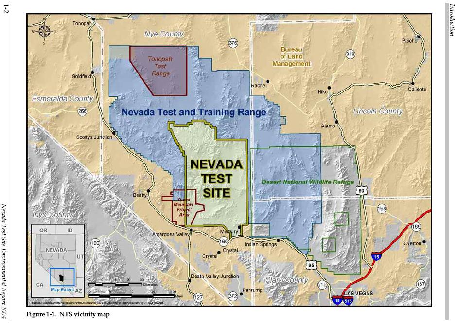 Nevada Test Site Images