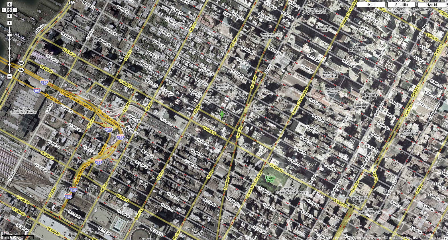 Eyeballing The New York Times - Nyc map google maps