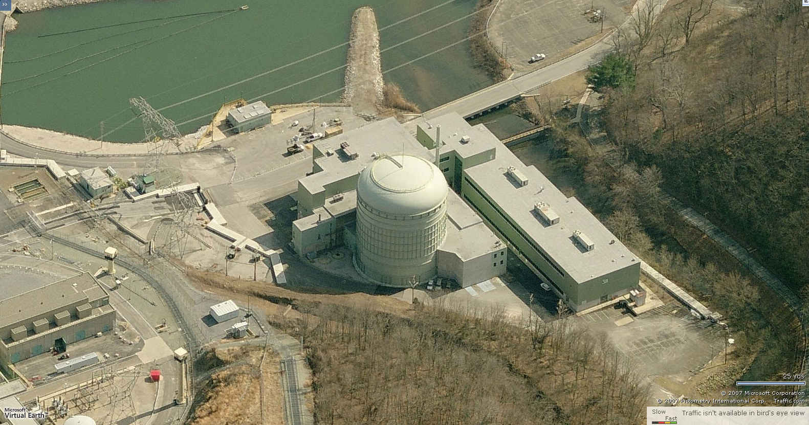 Peach Bottom Atomic Power Plant Birdseye
