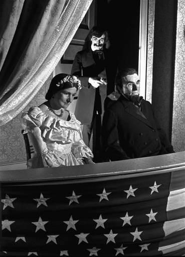 Abraham Lincoln And His Wife Eyeballing Presidential