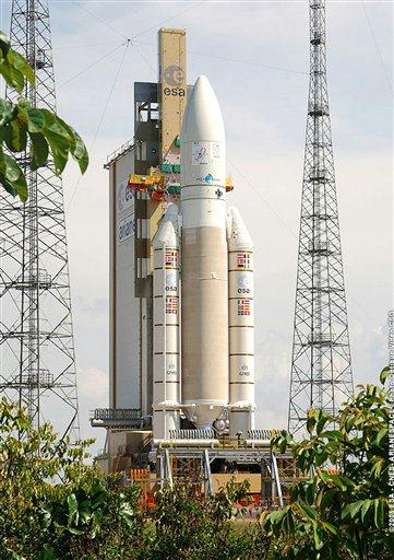 pictures of space rockets. the Ariane- 5 space rocket
