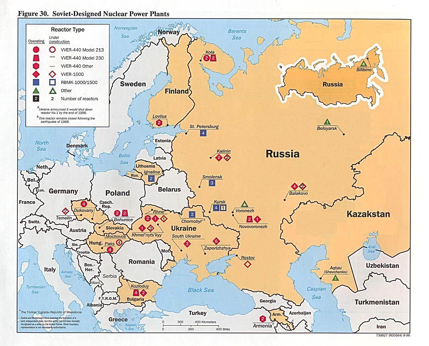 Smolensk Nuclear Power Plant Eyeball - Us nuclear powerplants location map