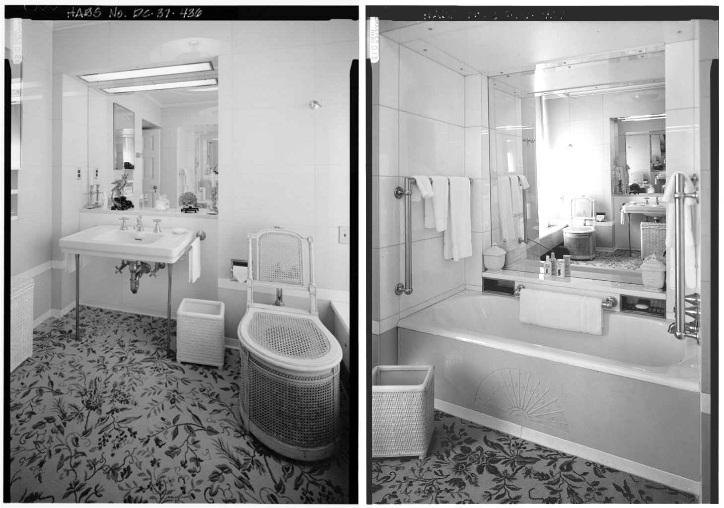 White house bathrooms images for House bathroom photos