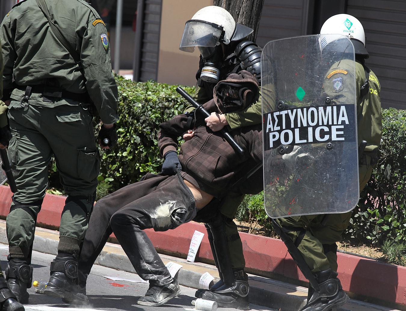 Jornadas de protesta Grecia 2011. Pict23