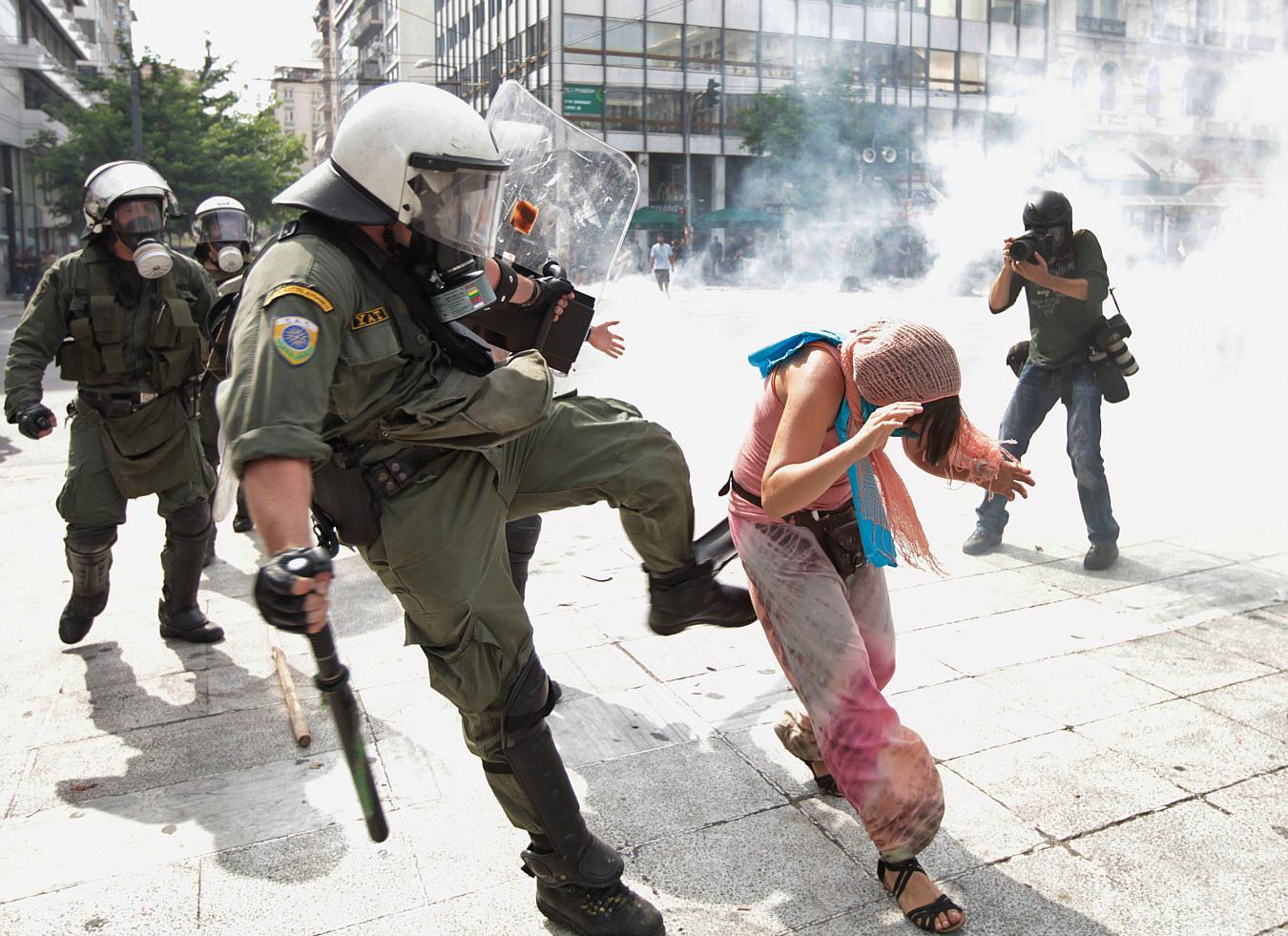 Jornadas de protesta Grecia 2011. Pict35