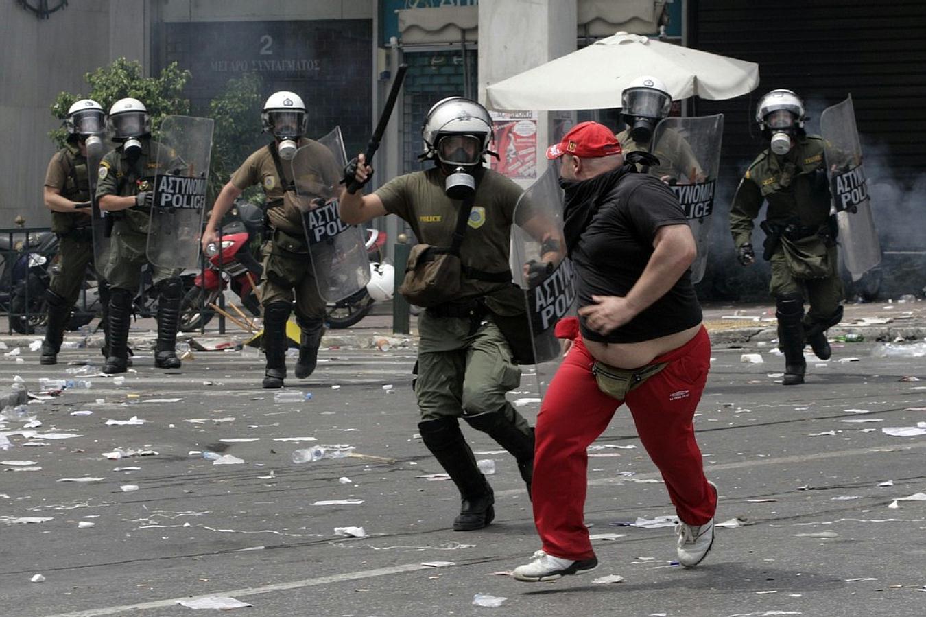Jornadas de protesta Grecia 2011. Pict5