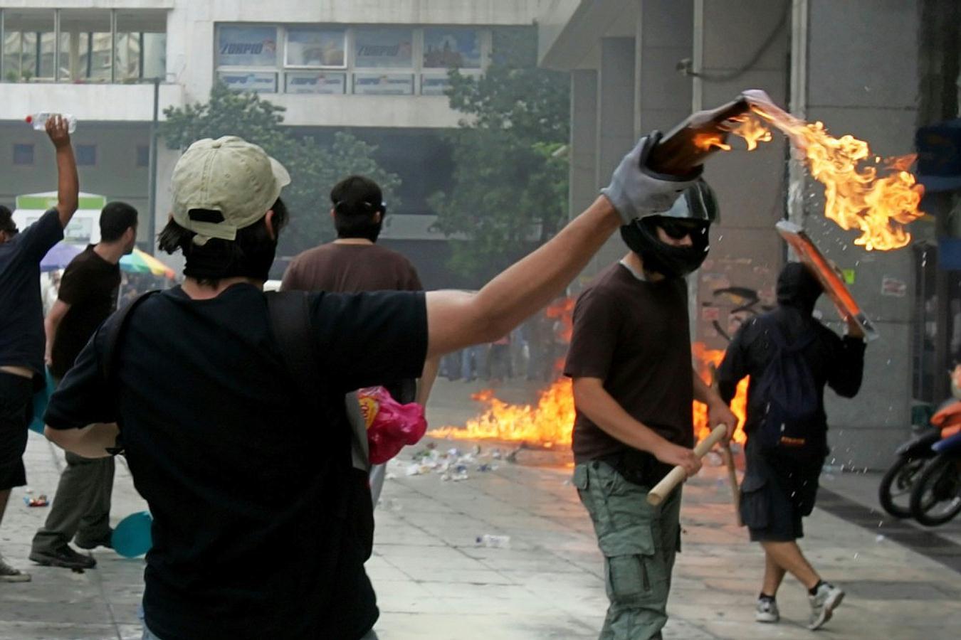 Jornadas de protesta Grecia 2011. Pict7