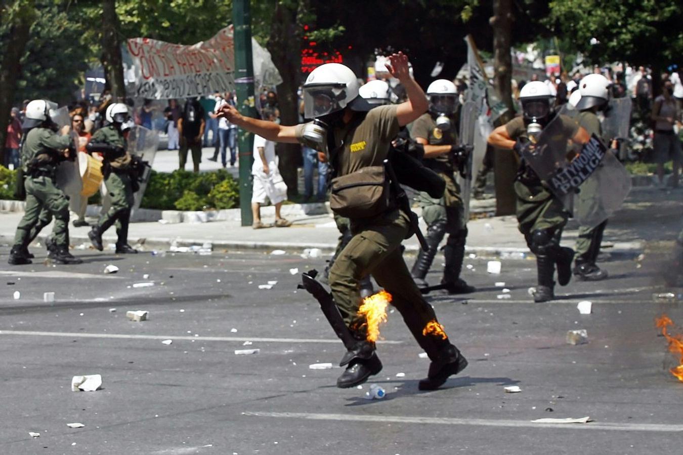 Jornadas de protesta Grecia 2011. Pict3