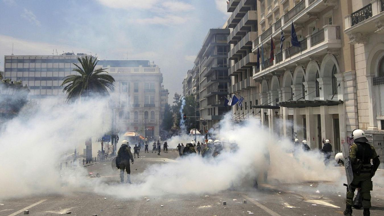 Jornadas de protesta Grecia 2011. Pict15