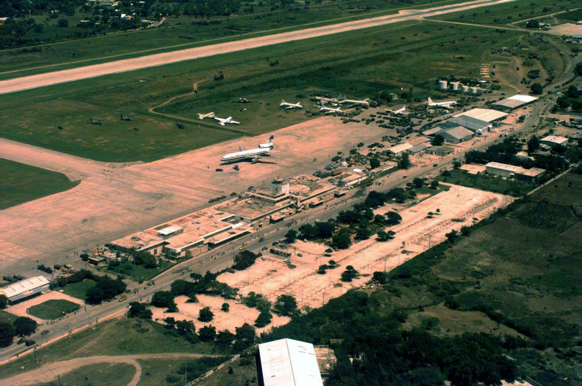 Haiti Airport Military Media Bivouacs 1994 2010 Eyeball