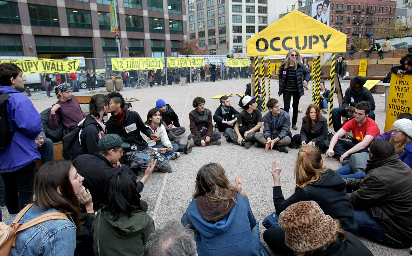 High School Essay Topics Occupy Wall Street Protesters Hold A General Assembly Meeting Inside An  Enclosed Site Near Canal Street On Tuesday Nov   English As A Second Language Essay also English Essay Speech Occupy Wall Street Nyc Photos  November  Narrative Essay Example High School