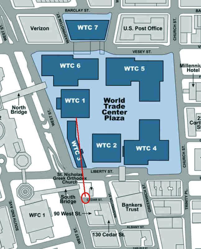 NEW YORK e World Trade Center 1WTC 541m 1776ft