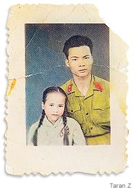 [photo of Vietnamese soldier]