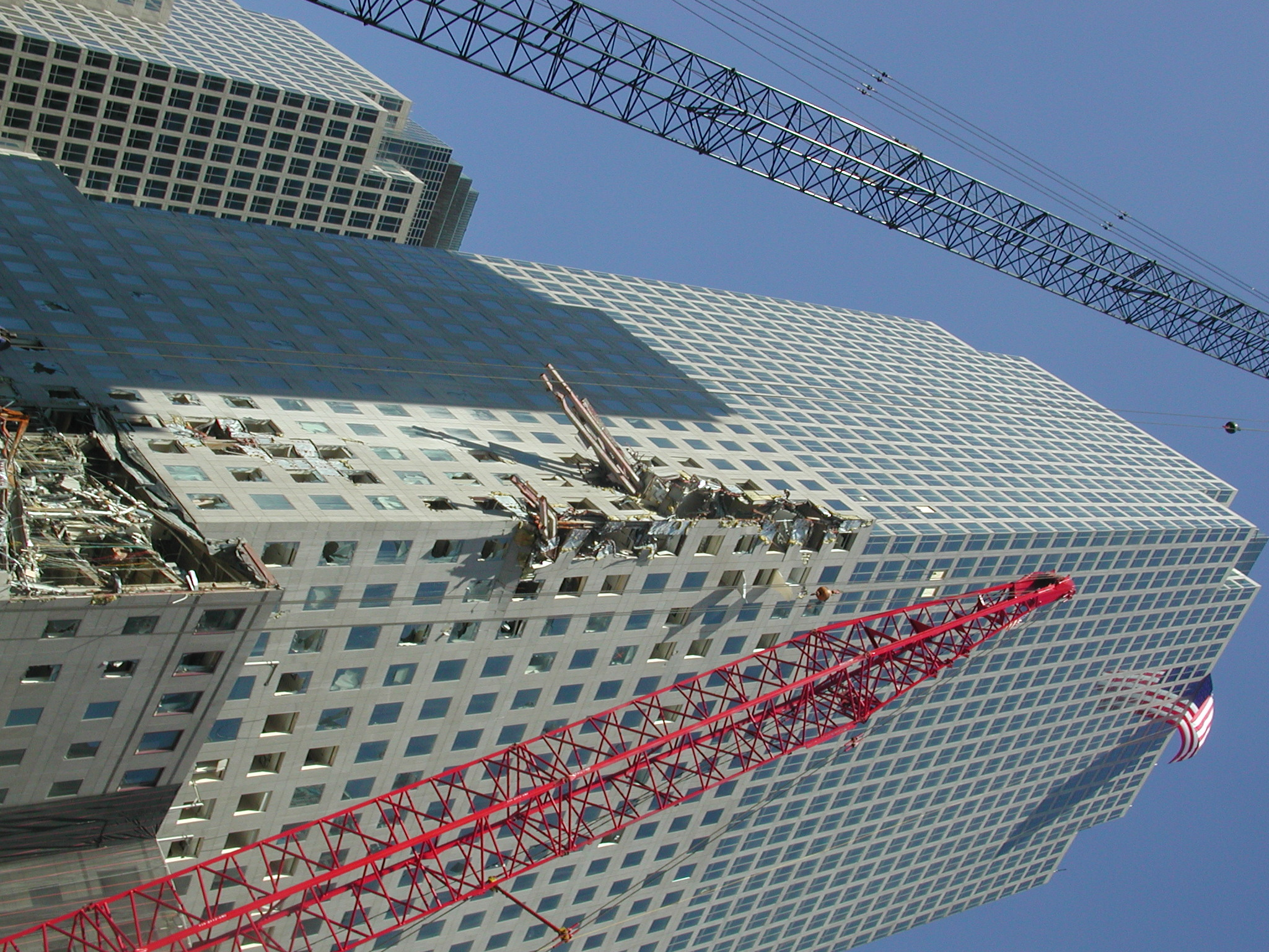 world trade center photographs 3 october 2001